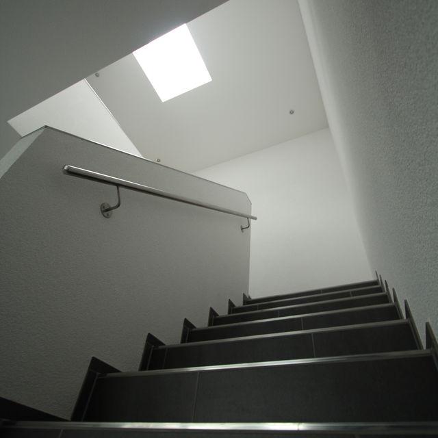 Treppenhaus mit Oblicht
