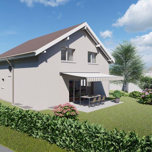 Einfamilienhaus in Sevelen