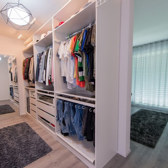 Elternzimmer - Ankleide