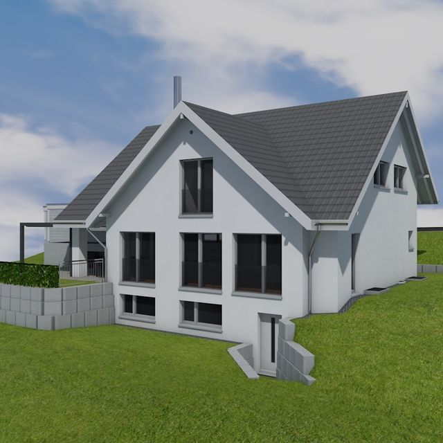 Perspektive 2 - EFH-Bauprojekt im Zürcher Oberland
