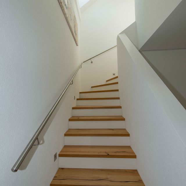 Treppenaufgang ins OG