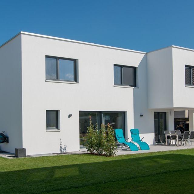 Starhaus AG: EFH Widnau Ansicht West
